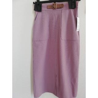 PROPORTION BODY DRESSING - 新品♡プロポーションボディドレッシング フロントベルトタイトスカート