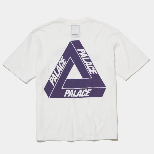 THE NORTH FACE(ザノースフェイス)のPALACE NORTH FACE PURPLE H/S LOGO TEE M メンズのトップス(Tシャツ/カットソー(半袖/袖なし))の商品写真