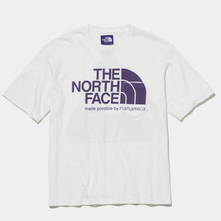 THE NORTH FACE - PALACE NORTH FACE PURPLE H/S LOGO TEE M