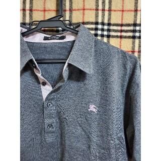 BURBERRY BLACK LABEL - ■希少サイズ3 クールビズ ▼美品、ポロシャツ