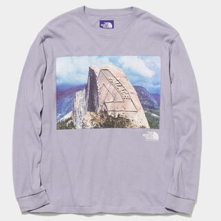 THE NORTH FACE - PALACE NORTH FACE PURPLE L/S Graphic Tee