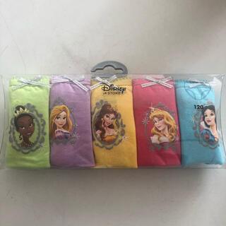 Disney - 女の子 下着 パンツ プリンセス 5枚セット 120cm