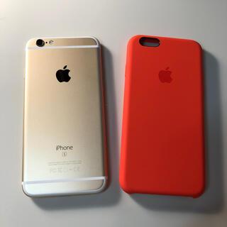 Apple - iPhone 6S Gold 64GB [美品][SIMフリー][純正ケース]