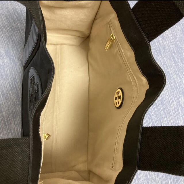 Tory Burch(トリーバーチ)の新品同様 tory burch トリーバーチ トート バッグ ブラック レディースのバッグ(トートバッグ)の商品写真