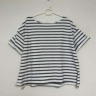GRL - 半袖 ボーダー Tシャツ