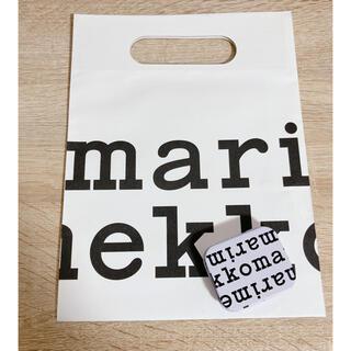 marimekko - マリメッコ marimekko70周年 限定 ロゴ 缶 ノベルティ