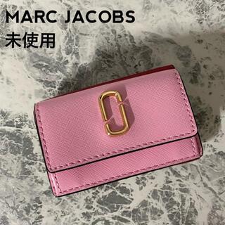 MARC JACOBS - 未使用 MARC JACOBS 3つ折り財布 スナップショット 人気