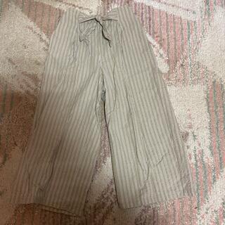 GU - キッズ女の子140センチ ガウチョパンツ