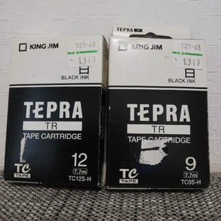 キングジム(キングジム)のテプラ☆カートリッジ TR 9mm12mm キングジム(オフィス用品一般)
