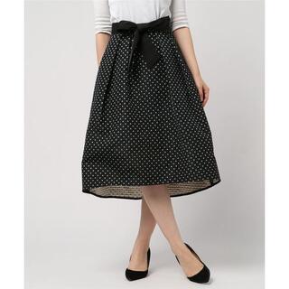 ANAYI - 超美品 アナイ ANAYI スターモチーフジャガード素材スカート 34