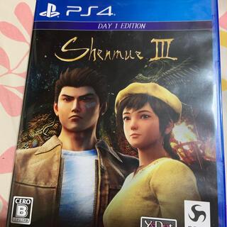 シェンムーIII(リテールDay1エディション) PS4