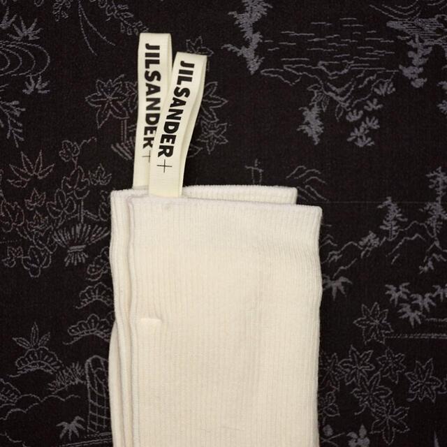 Jil Sander(ジルサンダー)のJIL SANDER ジルサンダー プラス 靴下 ソックス 新品 レディース レディースのレッグウェア(ソックス)の商品写真