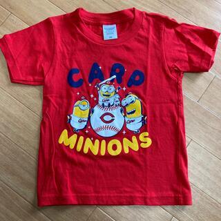 カープ ミニオン コラボ Tシャツ 110