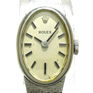 ロレックス(ROLEX)のROLEX(ロレックス) - レディース シルバー(腕時計)