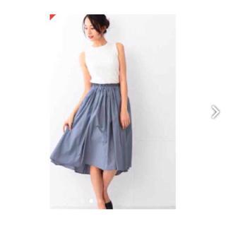 デミルクスビームス(Demi-Luxe BEAMS)のデミルクス ビームス ギャザースカート(ひざ丈スカート)