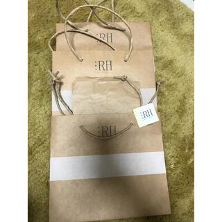 ロンハーマン(Ron Herman)のロンハーマン 紙袋 ショップ袋 3枚(ショップ袋)