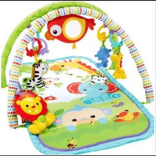 Fisher-Price - フィッシャープライス ベビーマット 知育 発達 赤ちゃん 新生児 プレイマット