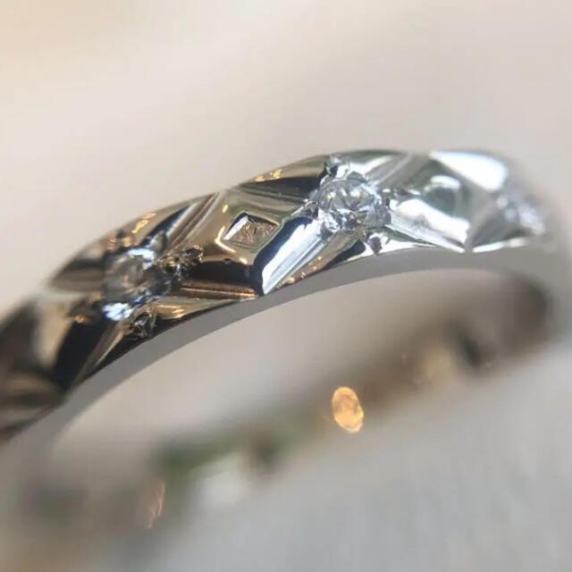 CHANEL(シャネル)のシャネルマトラッセ フルダイヤモンド エタニティリング レディースのアクセサリー(リング(指輪))の商品写真
