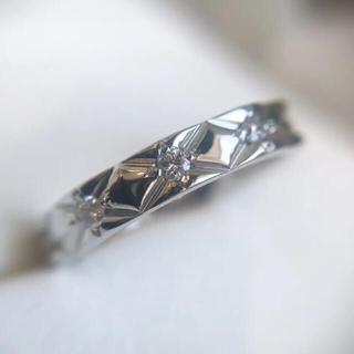 CHANEL - シャネルマトラッセ プルダイヤモンド エタニティリング