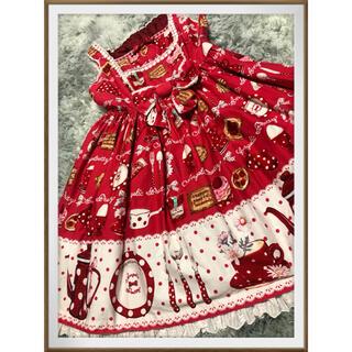 Angelic Pretty - ribbon様専用 アンプリ french cafe赤ジャンスカのみ