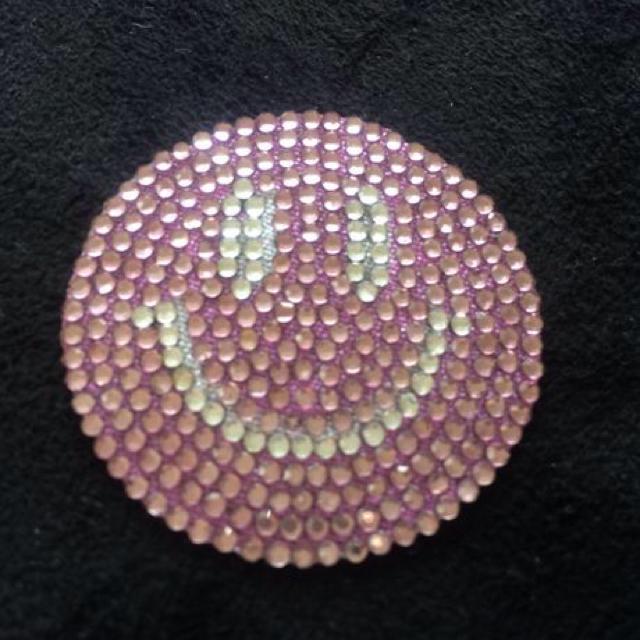 ピンクスマイル♡デコシール ハンドメイドの素材/材料(その他)の商品写真
