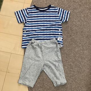 UNIQLO - ユニクロ UNIQLO キッズ 半袖半ズボン パジャマ 100