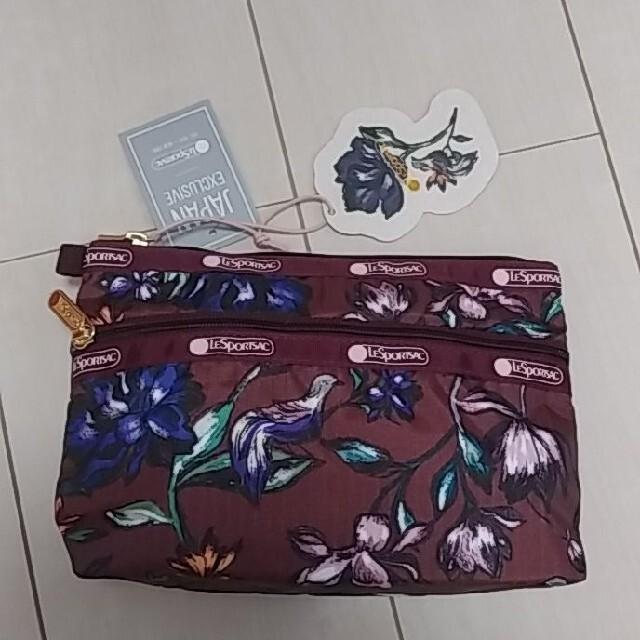 LeSportsac(レスポートサック)のレスポートサック 大草直子 ポーチ 新品 レディースのファッション小物(ポーチ)の商品写真