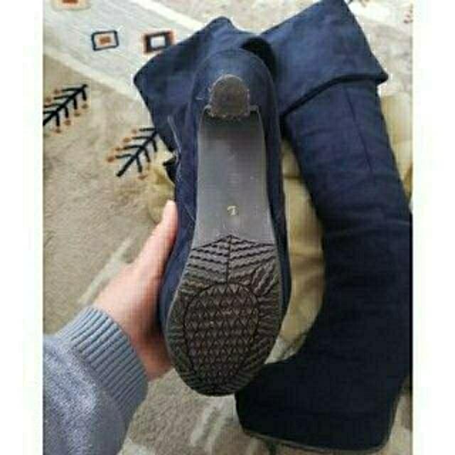 【最終価格・送料無料・美品】ロングヒールブーツ レディースの靴/シューズ(ブーツ)の商品写真