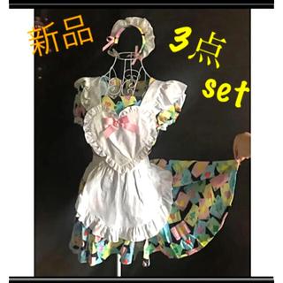 可愛い❤︎メイド服★コスプレ(衣装一式)