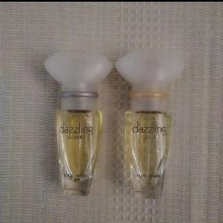 エスティローダー(Estee Lauder)のエスティローダー ダズリング ゴールド ・シルバー5ml(香水(女性用))