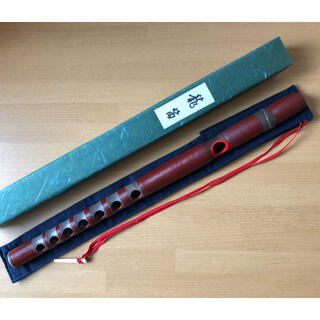 【最終価格】龍笛 樹脂管 (袋付き)(横笛)