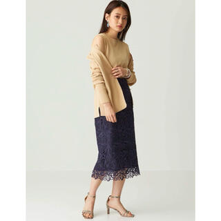 UNITED ARROWS - 新品未使用タグ付き ケミカルレース スカート