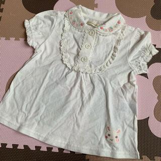 クーラクール♡いちご♡初夏物ブラウスTシャツ♡100