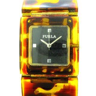 フルラ(Furla)のFURLA(フルラ) - レディース 黒(腕時計)