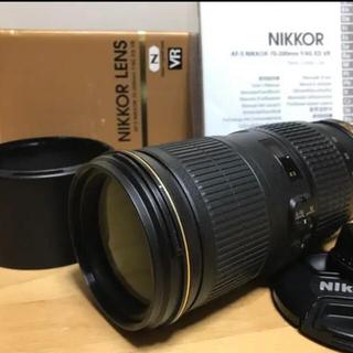 Nikon - 美品 ニコン AF-S NIKKOR 70-200mm f4G VR ナノクリ