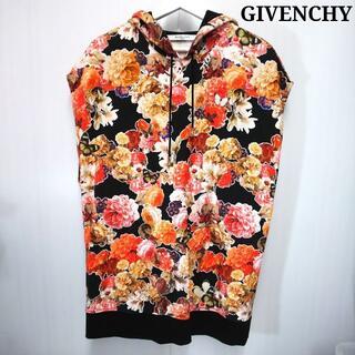 ジバンシィ(GIVENCHY)のジバンシー 花柄 フラワー スエット 袖なし ノースリーブ PJ032(スウェット)