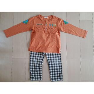 サンカンシオン(3can4on)の長袖Tシャツ 110 3can4on ズボン サンカンシオン まとめ売り 男女共(その他)