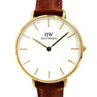 ダニエルウェリントン(Daniel Wellington)のダニエルウェリントン美品  クラシック 白(腕時計)