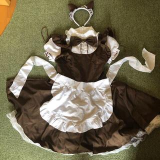 メイド服  コスプレ 衣装(衣装一式)