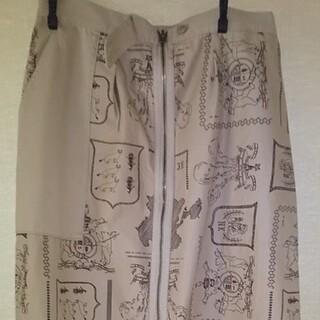 ネネット(Ne-net)のNé-netカジュアルタイトスカート(ロングスカート)