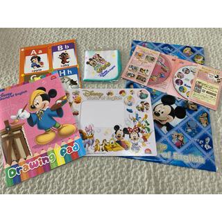 Disney - DWE World Family ディズニー 6点セット 非売品