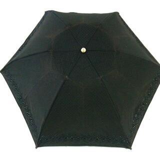 ラルフローレン(Ralph Lauren)のラルフローレン - 黒 化学繊維(傘)