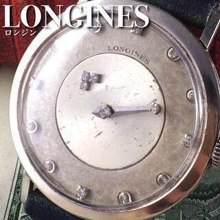 ロンジン(LONGINES)の★激レア★1940's/14金無垢/ロンジン/手巻き/メンズ腕時計/WW1355(腕時計(アナログ))