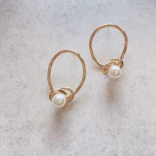 JOURNAL STANDARD - #870 import pierce : pearl rounds gold