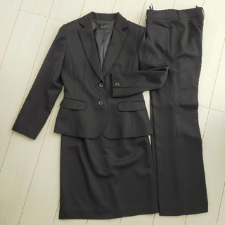レディーススーツ 3点セット パンツスーツ ジャケット スカート 11AR Lサ