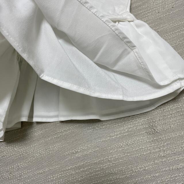 petit main(プティマイン)のpetit main プティマイン  裾フレア ビスチェ付きトップス 110 キッズ/ベビー/マタニティのキッズ服女の子用(90cm~)(Tシャツ/カットソー)の商品写真