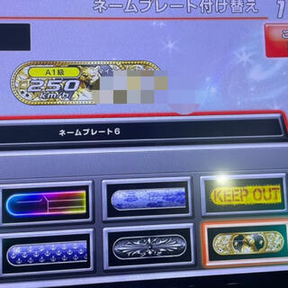 BANDAI NAMCO Entertainment - 湾岸ミッドナイト6R 金プレコスモ ネット付き