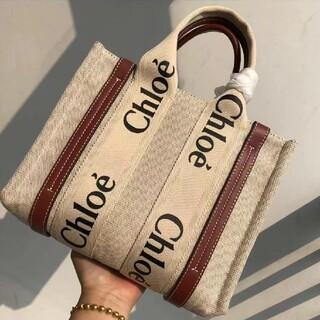 Chloe  Woody Tote Bagスモールトートバッグ