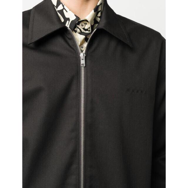 Marni(マルニ)の最終価格 MARNI ロゴジップアップブルゾン メンズのジャケット/アウター(ブルゾン)の商品写真