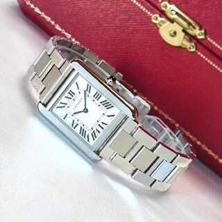 Cartier - ☆美品☆ カルティエ タンクソロ レディース SM スティール / 腕時計